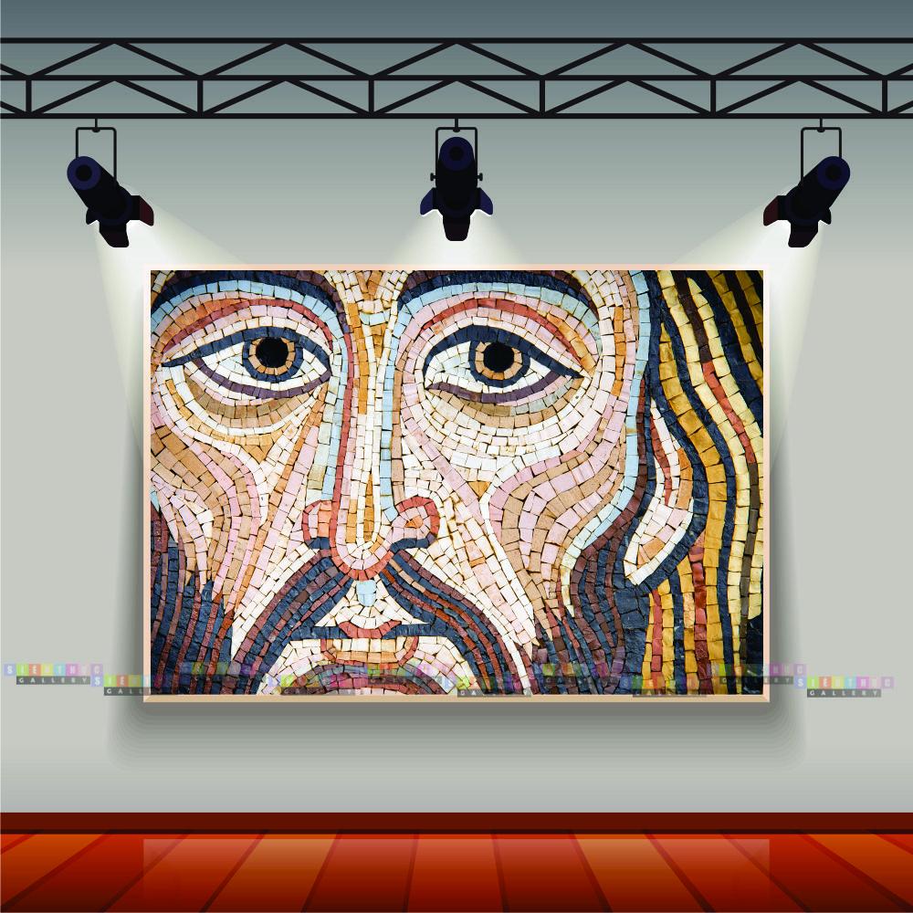 Tranh canvas chúa Giesu mã TGC01