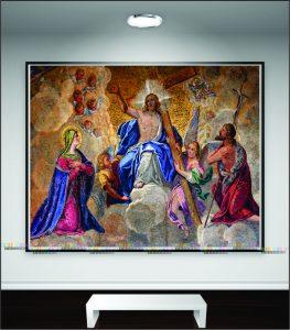 Tranh canvas chúa giesu đức mẹ maria TGC03