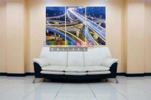 Tranh canvas phong cảnh mã PC03