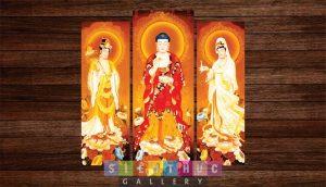 Tranh canvas tôn giáo phật mã PP01