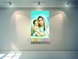 Tranh canvas đức mẹ Maria- thiên chúa TC01