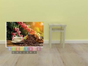 Tranh trang trí quán cafe Mã- CF05