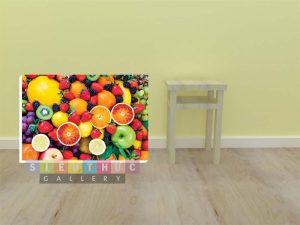 Tranh canvas trang trí cửa hàng trái cây TC01
