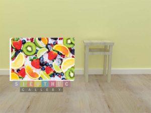 Tranh trang trí cửa hàng trái cây TC02