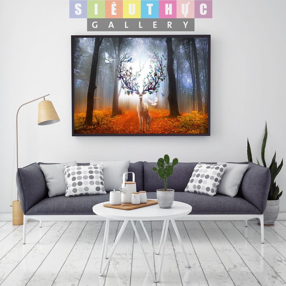 Tranh canvas phong cảnh mã QH06
